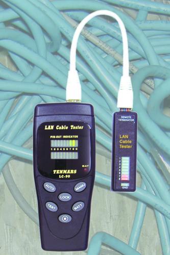Tester Cable Utp Rj45 Rj11 Y Lan Cit Ltda